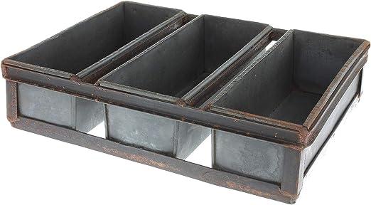 MACOSA TM1639 - Caja Decorativa de Hierro con 3 Formas para ...