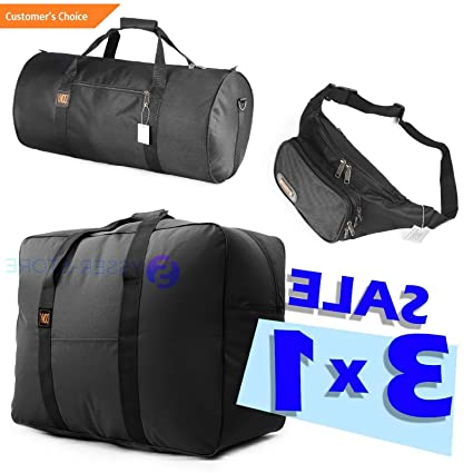 Amazon.com | Sandover Maletin Gusano Cargo Bag 50 Lb Funny Pack Roll Carry on Set Ligero Ideal x Cuba | Model LGGG - 12765 | | Luggage Sets