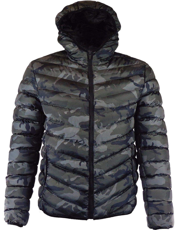 Boys D-Project Jacket Coat Padded Bubble Puffer Hooded Marl Warm Hooded Winter