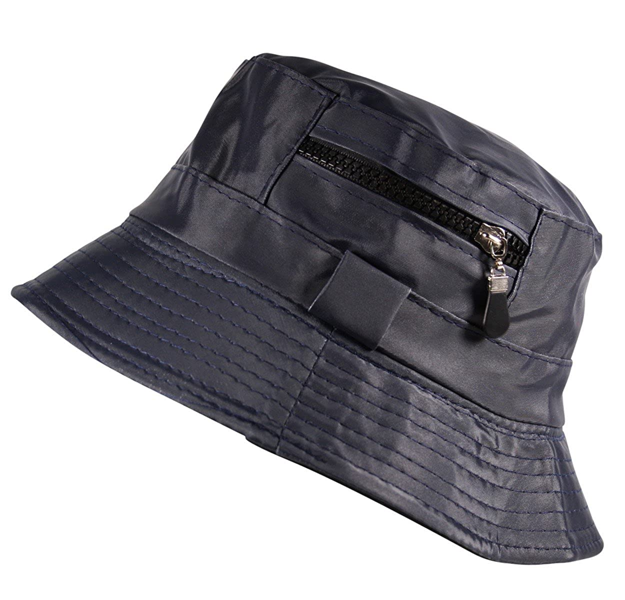 Unisex Bucket Bush Sun Hat Fleece Lined Water Resistant Fishing Boonie in Beige Black Burgundy Blue