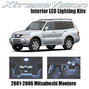 xtremevision Mitsubishi Montero 2001 - 2006 (10 piezas) blanco frío paquete de interior LED Kit Premium + herramienta de instalación: Amazon.es: Coche y ...