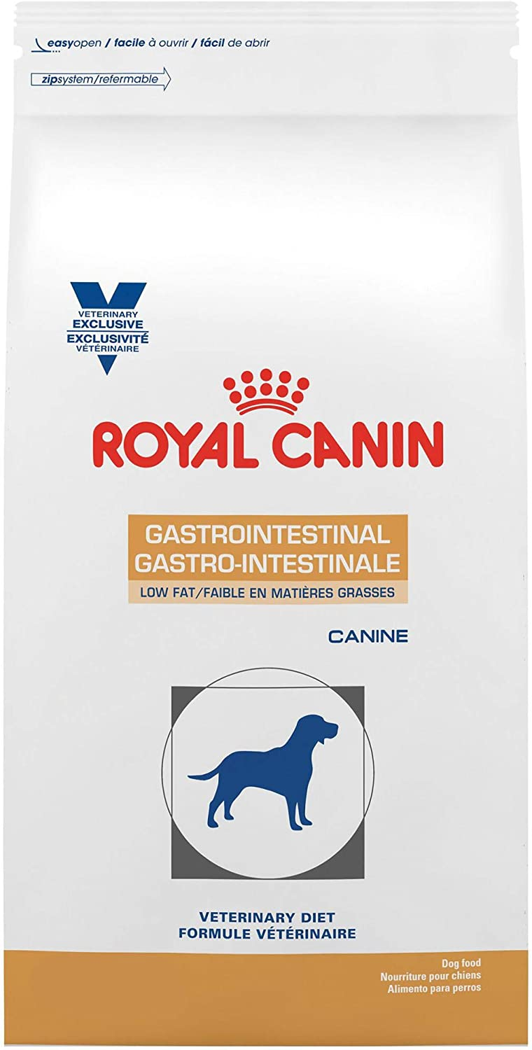 Royal Canin Veterinary Diet Gastrointestinal Low Fat LF Dry Dog Food 1.5 lb