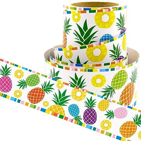 Pineapple Bulletin Board Borders Confetti Themed Border For Classroom Decoration 36ft