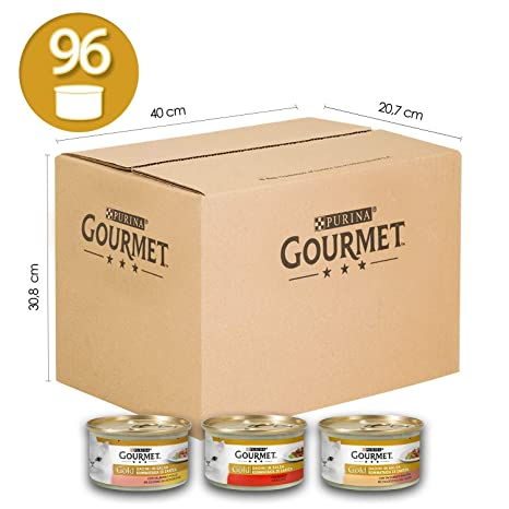 Purina Gourmet Gold Húmedo Gato: Amazon.es: Productos para mascotas