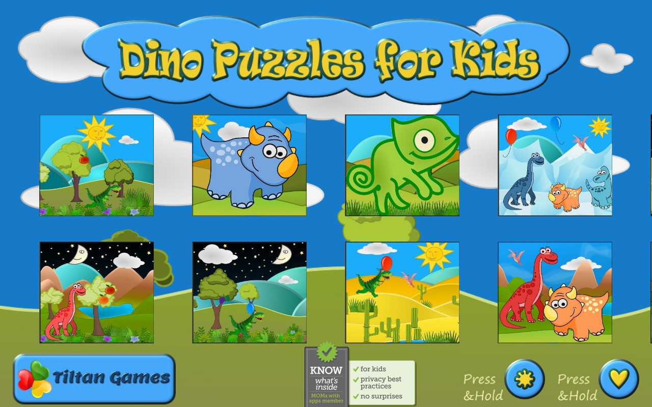 Dino Puzzle Free: Kids Games - Jigsaw puzzles for toddler ...