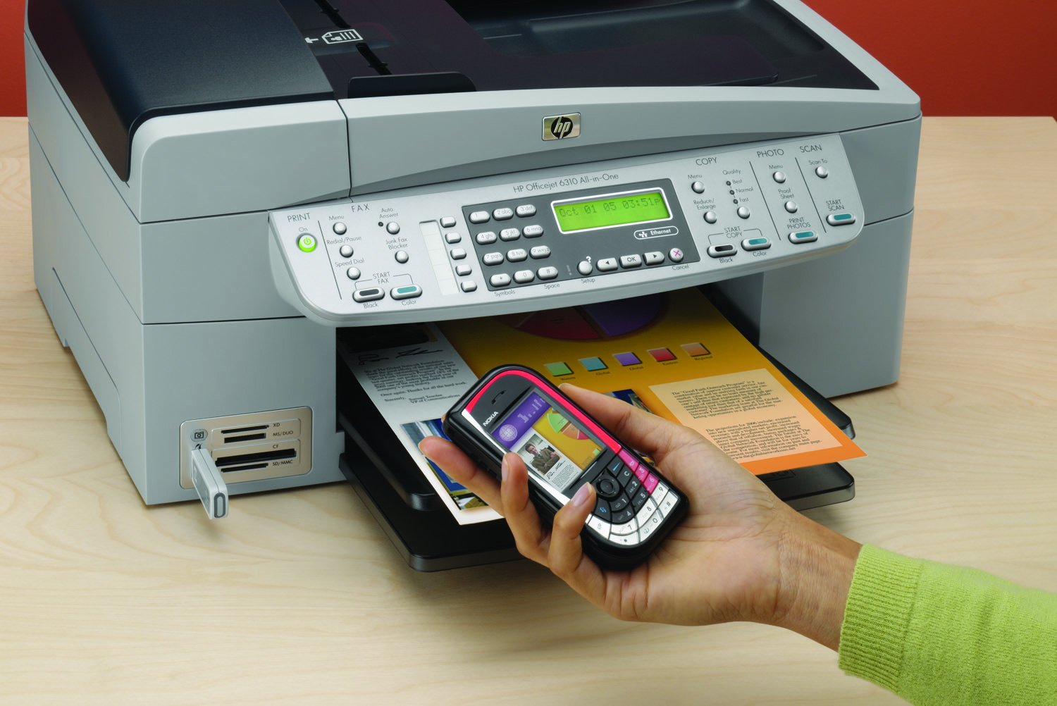 How to Scan a Document Into Word From a HP Officejet