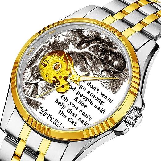 Reloj mecánico automático para Hombres, Marca de Lujo, Reloj Deportivo Informal para Personalidad Masculina