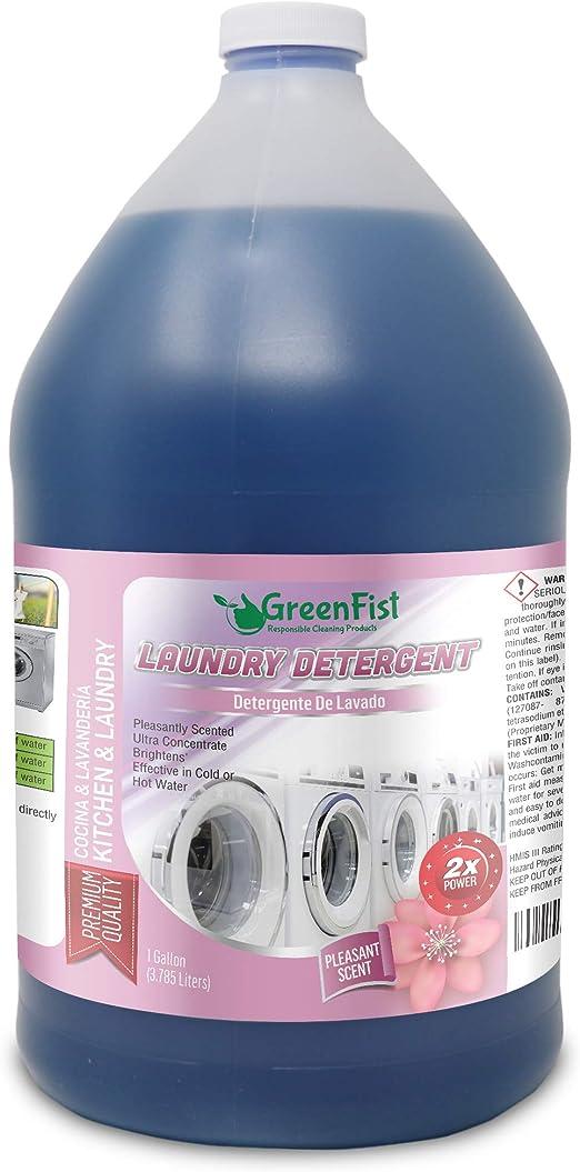 Detergente greenfist [Super concentrado] 1 Gallon: Amazon.es: Hogar