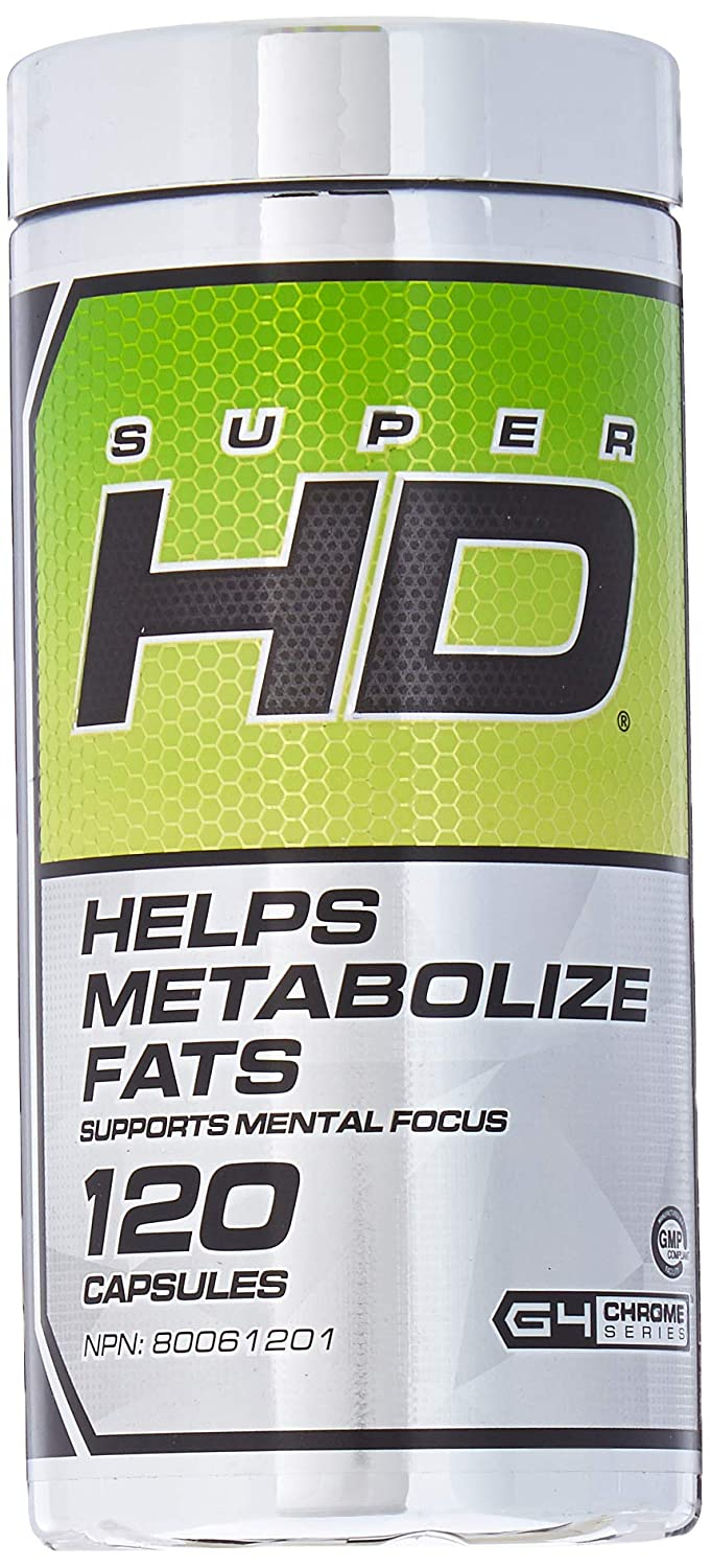 Cellucor Super Hd Weight Loss Fat Burner 120 Capsules