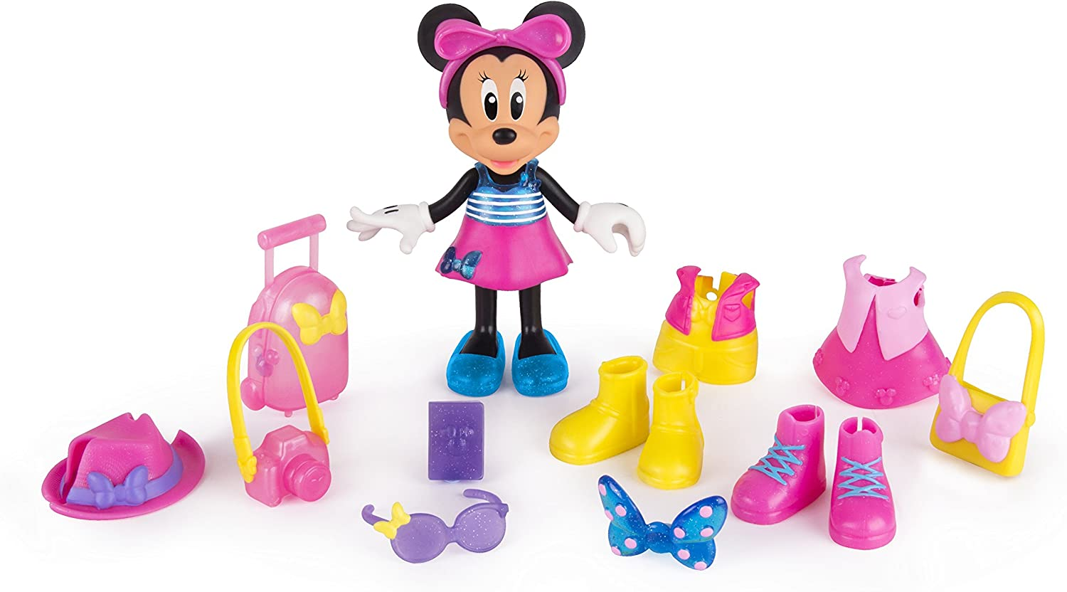 Minnie Mouse- Fashion Dolls 2: Viajera, Multicolor (IMC Toys ...
