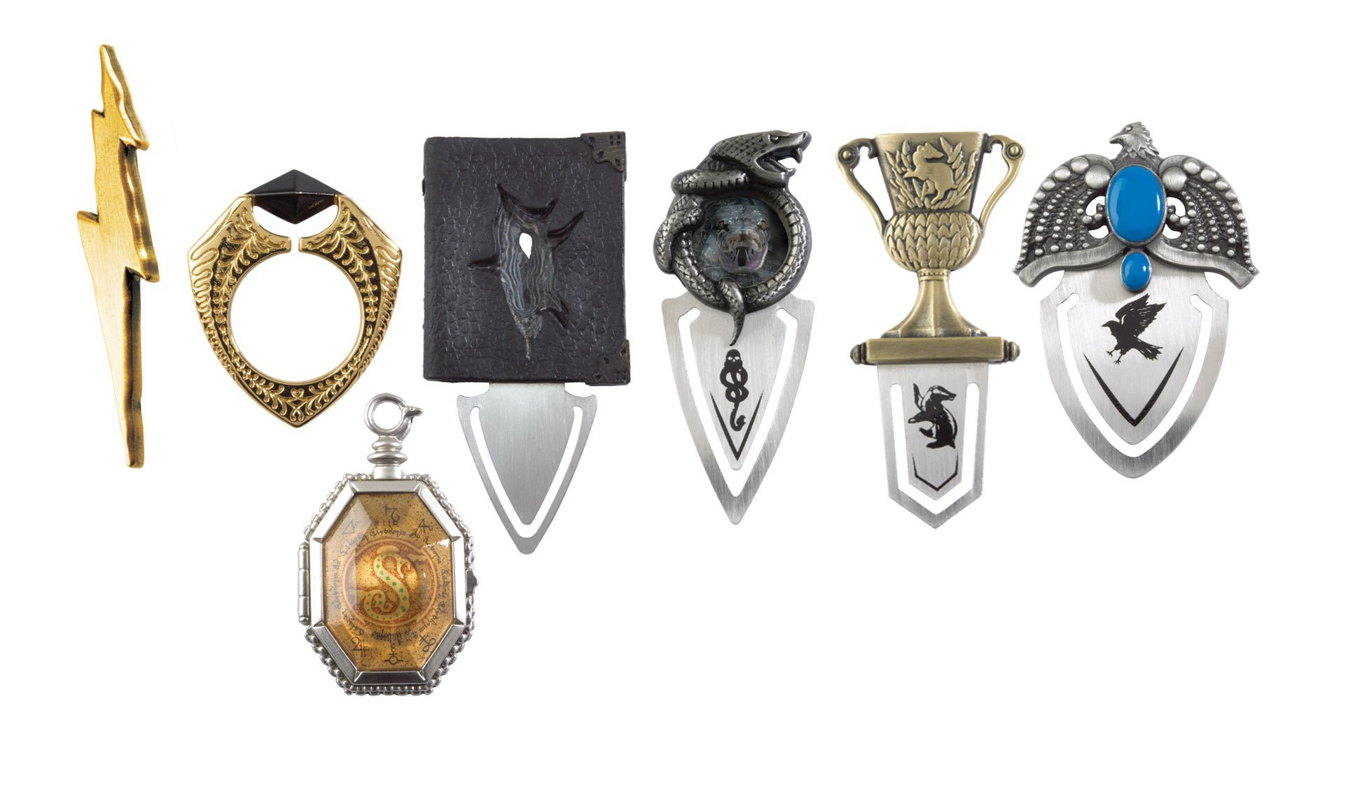 The Horcrux Bookmark Collection by The Noble Collection