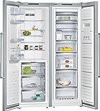 Siemens KA99FPI30 Side-by-Side / A++ / 186 cm Höhe / 358 kWh/Jahr / 202L Kühlteil / 237 L Gefrierteil / Die Kältegeräte mit 90 Grad Türöffnungswinkel