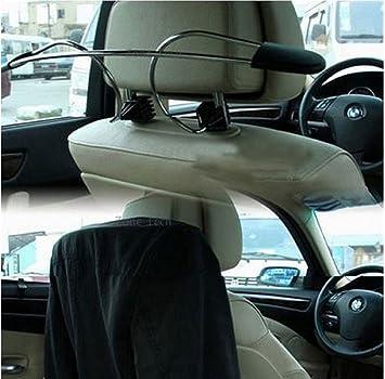 aomag® Metal Soporte de ropa reposacabezas Colgador de coche ...