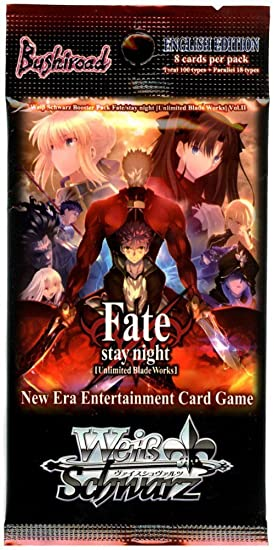 Weiss Schwarz Fate/stay night Unlimited Blade Works Vol.2