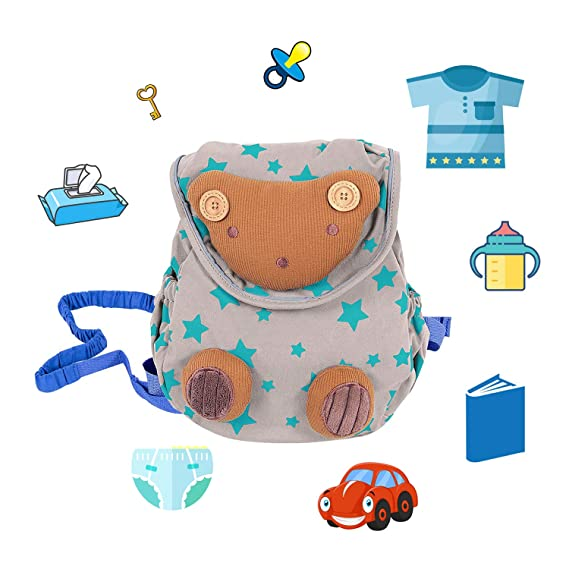 8dd136e84996 Labebe Girl Backpack with Harness