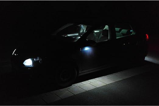 Mercedes Benz Classe A W176 Set éclairage Intérieur Led De Bus Can Premium Smd 6000 K Bleu Amazon Fr Luminaires Et Eclairage