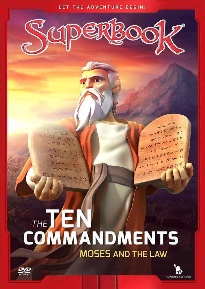 The Ten Commandments: Moses and the Law Superbook CBN Charisma House Non-Classifiable