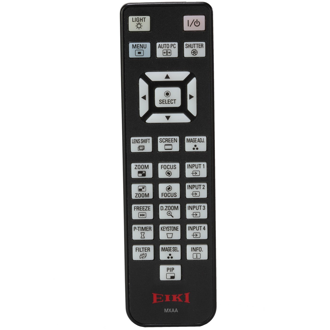 Eiki 645 099 0205   Infrared Wired Remote Control for EIP-SXG20 EIP-HDT20