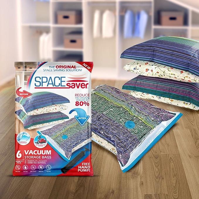Amazon.com: Spacesaver - Bolsas de almacenamiento al vacío ...