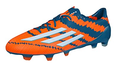 best service 94d74 cb883 adidas Messi 10.1 TRX FG Men s Football Shoes neonorange   grün Size 6.5 UK  -