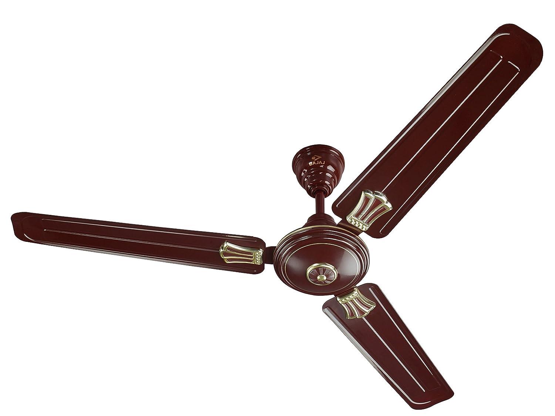 buy bajaj new bahar deco 1200mm ceiling fan brown online at low rh amazon in