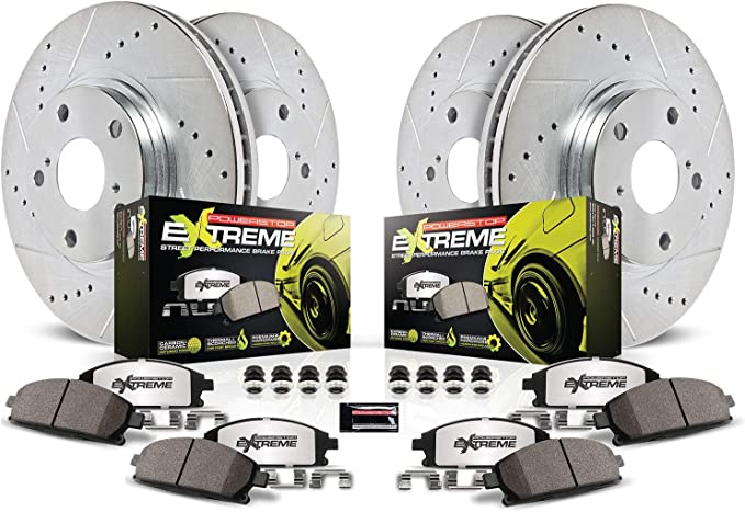 Z26-1053 Powerstop 2-Wheel Set Brake Pad Sets Rear New for Chevy Grand Cherokee