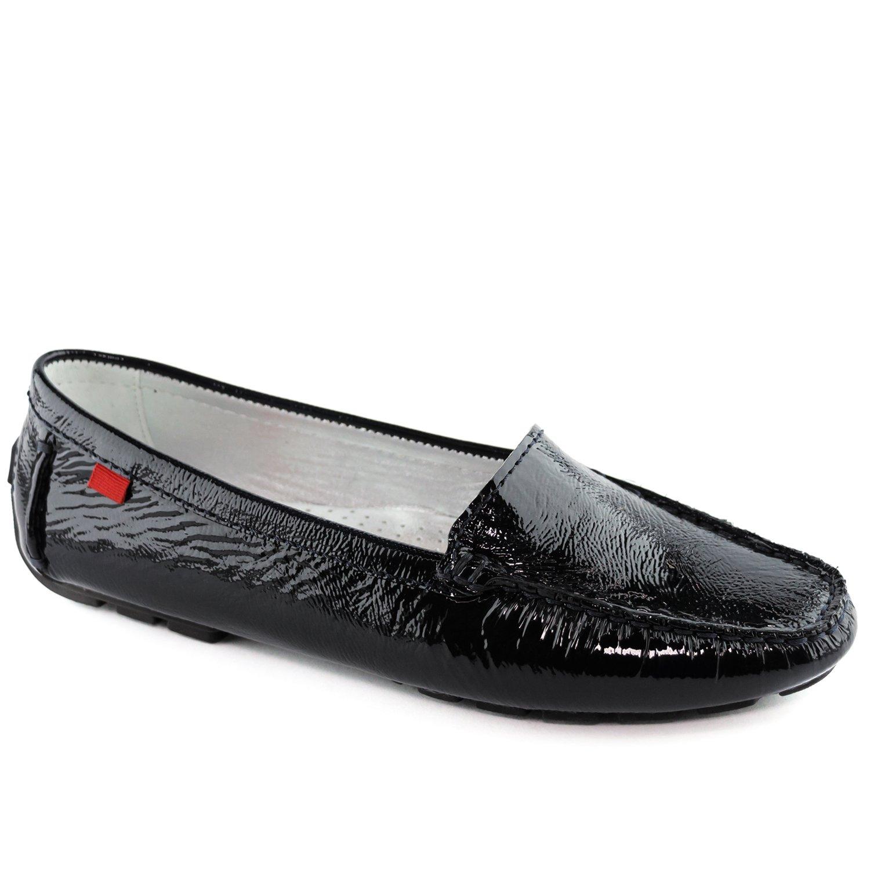 Marc Joseph NY Women's Fashion Shoes Manhasset Black Patent Driver Size 9