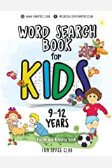 Word Search Books for Kids 9-12: Word Search Puzzles for Kids Activities Workbooks age 9 10 11 12 year olds: Volume 3 (Fun Space Club Games Word Search Puzzles for Kids) Paperback