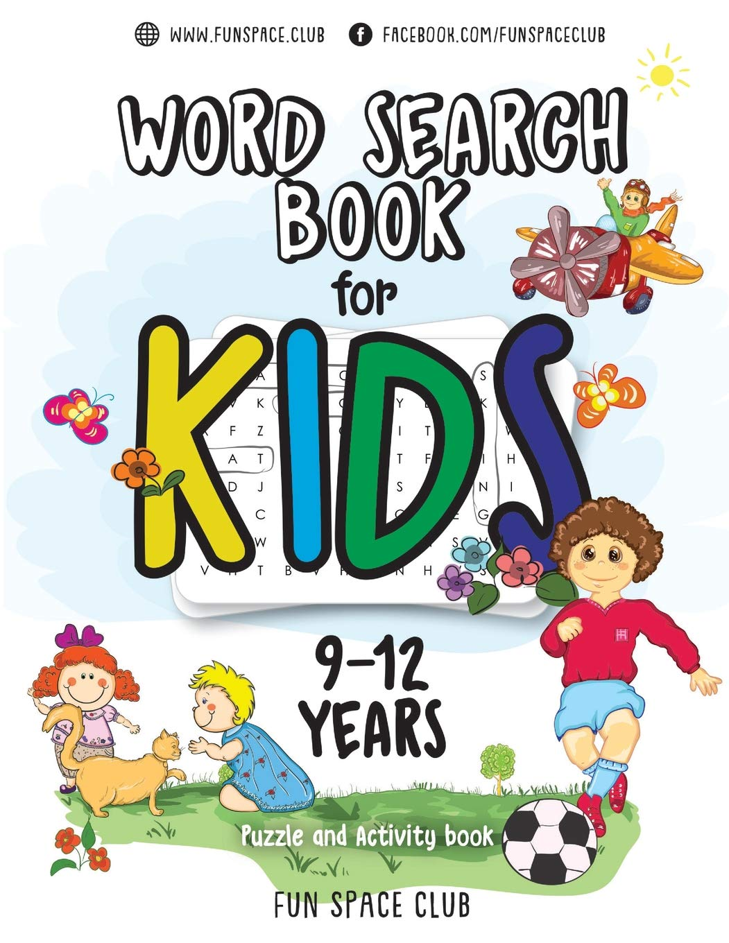 Word Search Books For Kids 9 12  Word Search Puzzles For Kids Activities Workbooks Age 9 10 11 12 Year Olds  Fun Space Club Games Word Search Puzzles For Kids Band 3