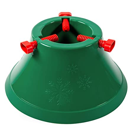 Heavy Duty Christmas Tree Stand.Style4home Unique Xmas Christmas Tree Stand Real Heavy Duty Up To 8 Feet Water Reservoir Round Green Strong Holder Base Frame Latest Extra Sturdy