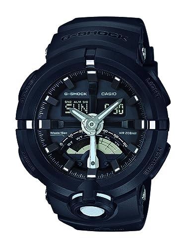 Casio Reloj Analógico-Digital para Unisex GA-500-1AER: Amazon.es: Relojes