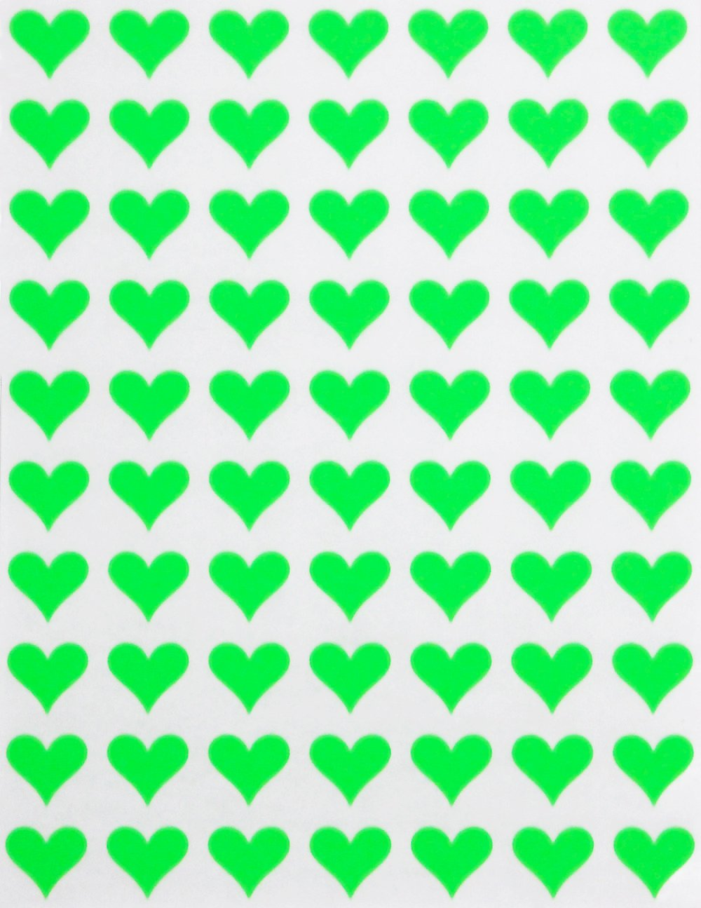 Etiquetas adhesivas permanentes de 1//2 pulgada Etiquetas de coraz/ón para regalos manualidades y /álbumes de recortes 350 unidades por Royal Green Pegatinas de corazones de 13 mm