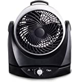"Ozeri Brezza II Dual Oscillating 10"" High Velocity Desk Fan"