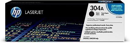 HP CC530A 304A Cartucho de Tóner Original, 1 unidad, negro: Hp ...