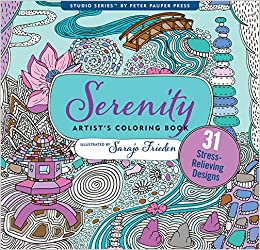 Serenity Adult Coloring Book (31 stress-relieving designs) (Studio ...
