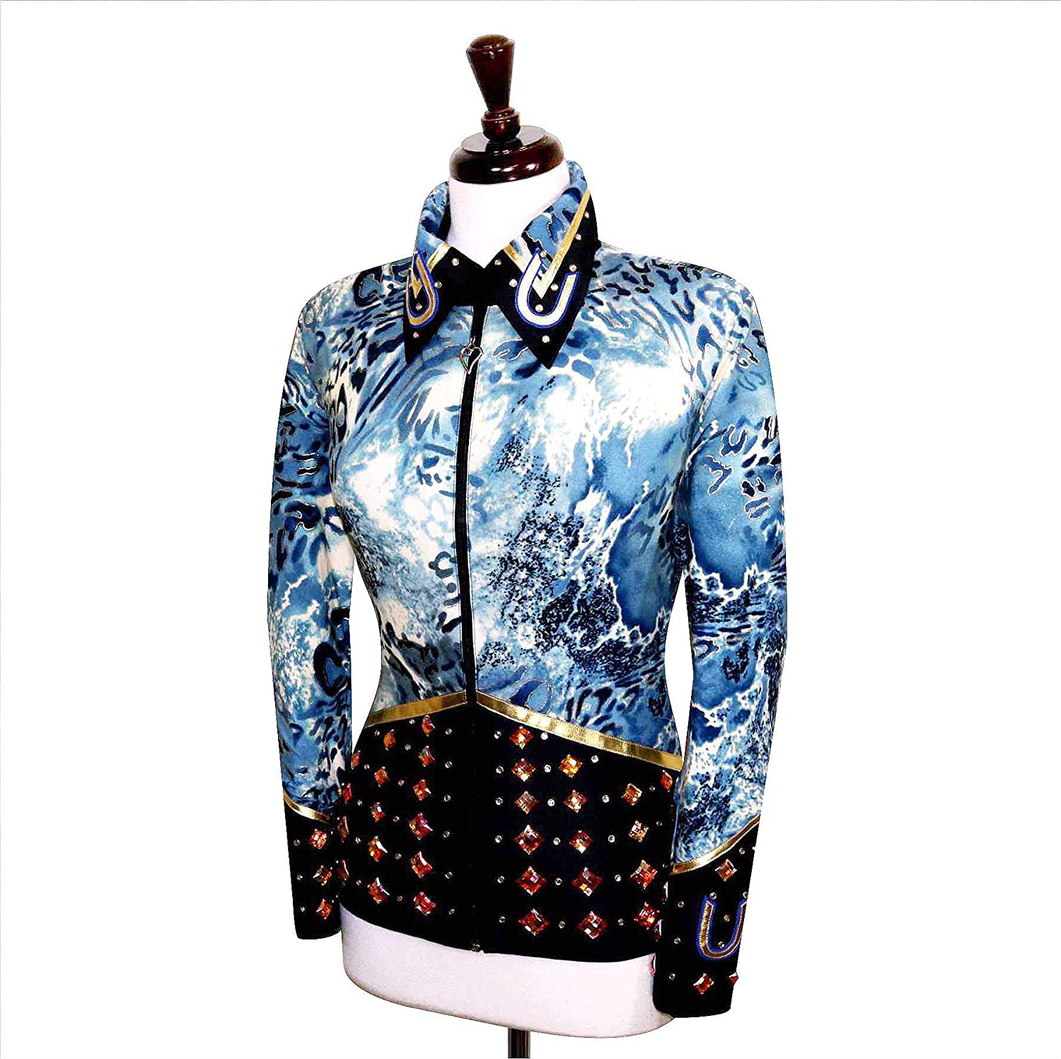 Amazon.com: Camisa grande Rodeo Pageant Queen Western ...