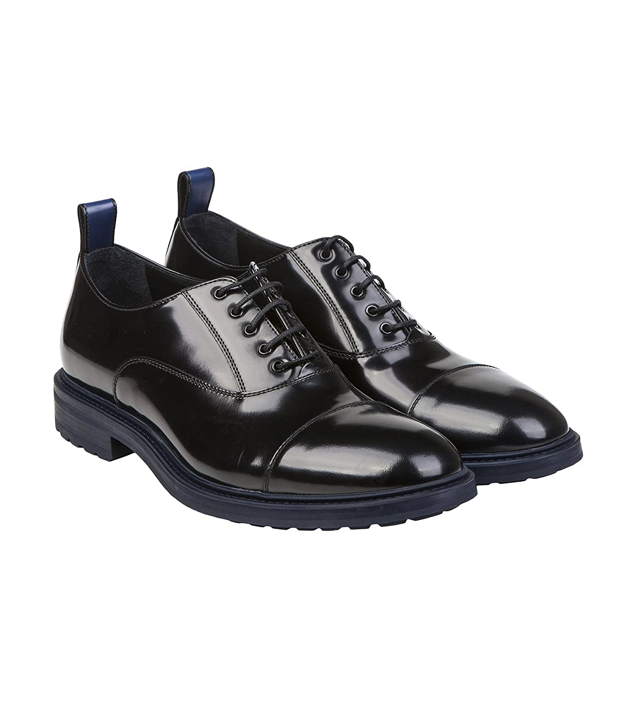 96a28080 Emporio Armani X4C464 XF136 Mens Lace Up Leather Shoes with Thick ...
