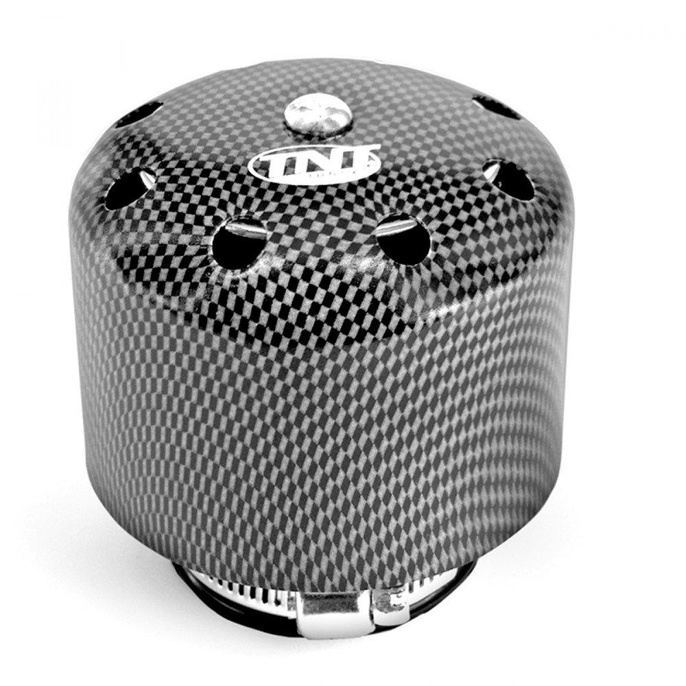 Filtro aria TNT con copertura Carbon Look 35/mm connettore