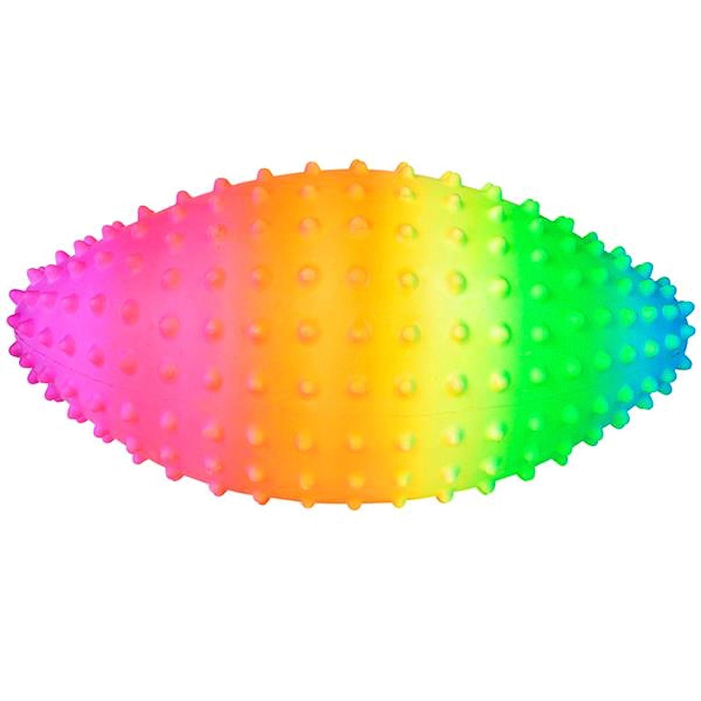 Rhode Island Novelty 9 Rainbow Knobby Football