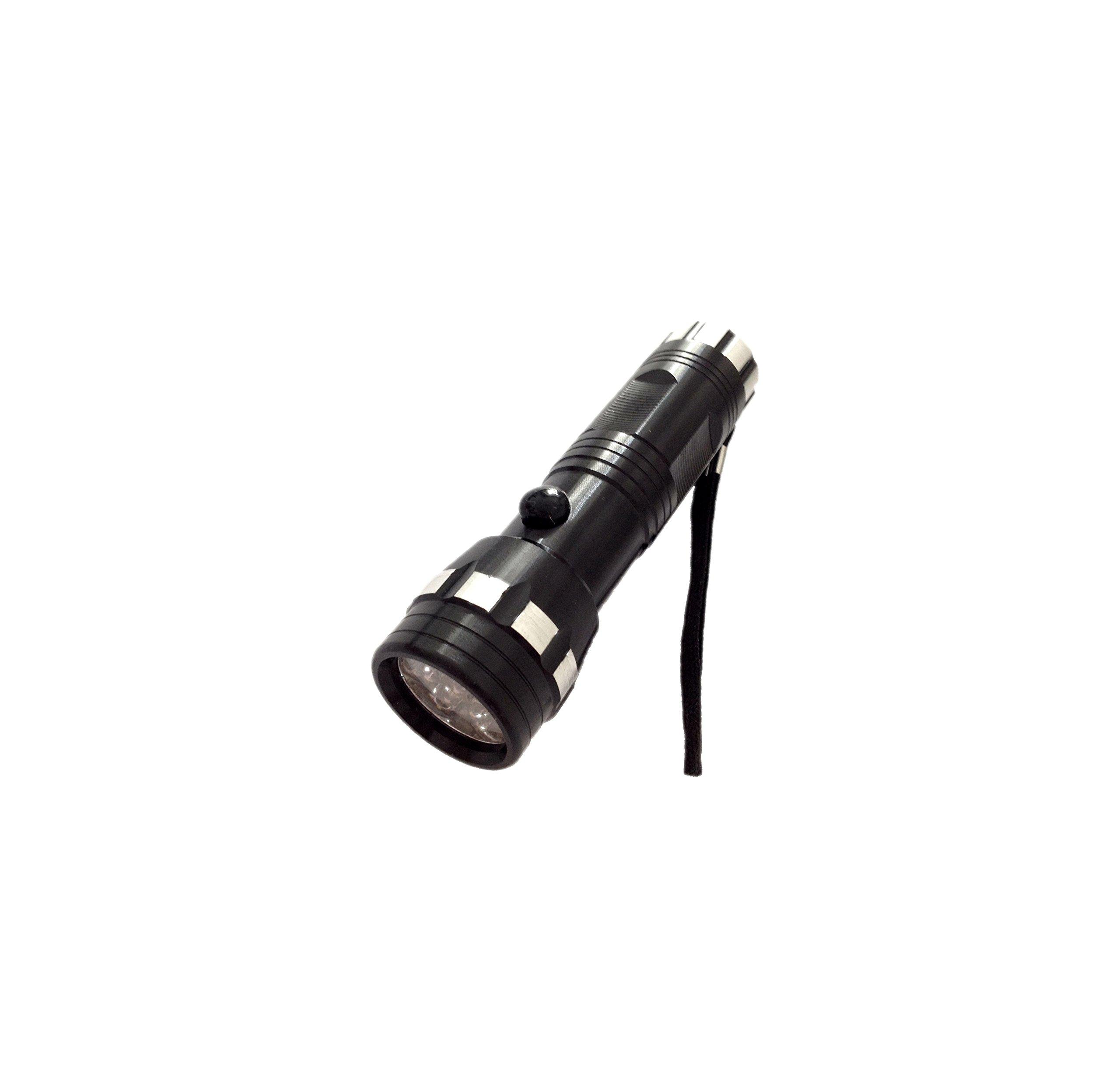 375nm-380nm UV Flashlight with SuperMax-14LEDs,Bulb Life:100,000 Hours,handheld counterfeit detector,UV banknote detectoe,forensic UV light.