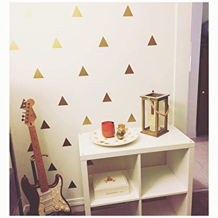"""96 of 3/"""" Light Blue Triangle Removable Peel /& Stick DIY Wall Vinyl Decal Sticker"""
