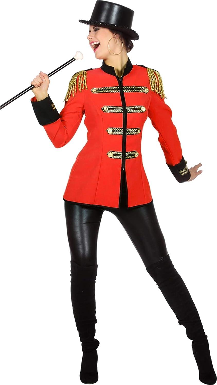 B-Ware AO Blazer Uniform Military Karneval Fasching Kostüm Jacke Rot M 38