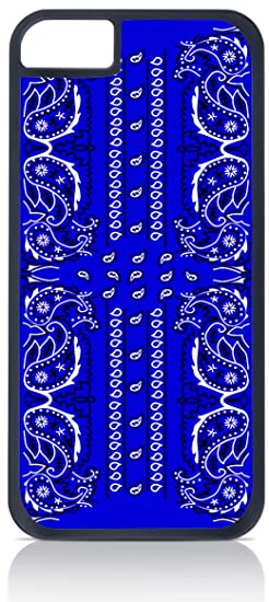 buy online e68b6 7998c Blue Bandana Paisley - Iphone 6 Black Plastic case - compatible with Iphone  6 only
