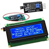 Diymore 2004 LCD Module Blue Backlight with IIC/I2C/TWI Serial Interface for Arduino UNO R3 MEGA2560 20 X 4, 2004