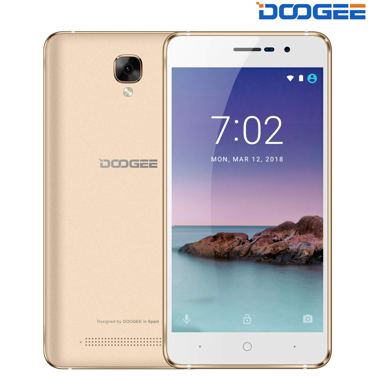 Unlocked Cell Phone, DOOGEE X10S 3G GSM Unlocked Phones Android 8 1-5 0