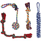 Dog Toys for Large Dogs, Durable Rope Chew Toys Set for Aggressive Chewers Large Dogs - 4 Pack Gift Set Best for Medium to Large Breeds