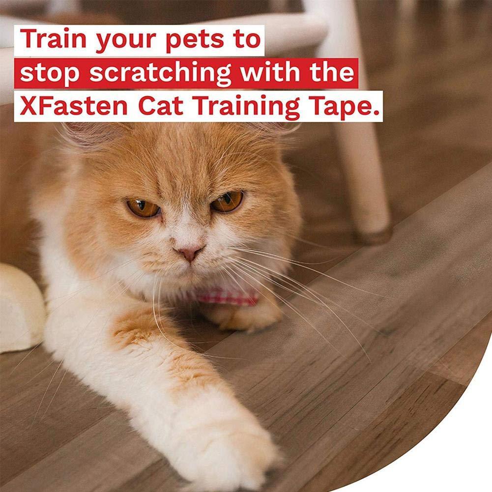 con Nastro Protettivo Anti-afferramento per Divano e addestramento Blentude Small Set di Protezione per Gatti e Animali Domestici