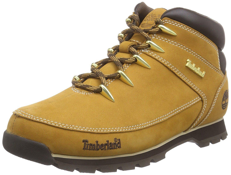 Timberland Euro Sprint Hiker Wheat Mens Nubuck Boots-10