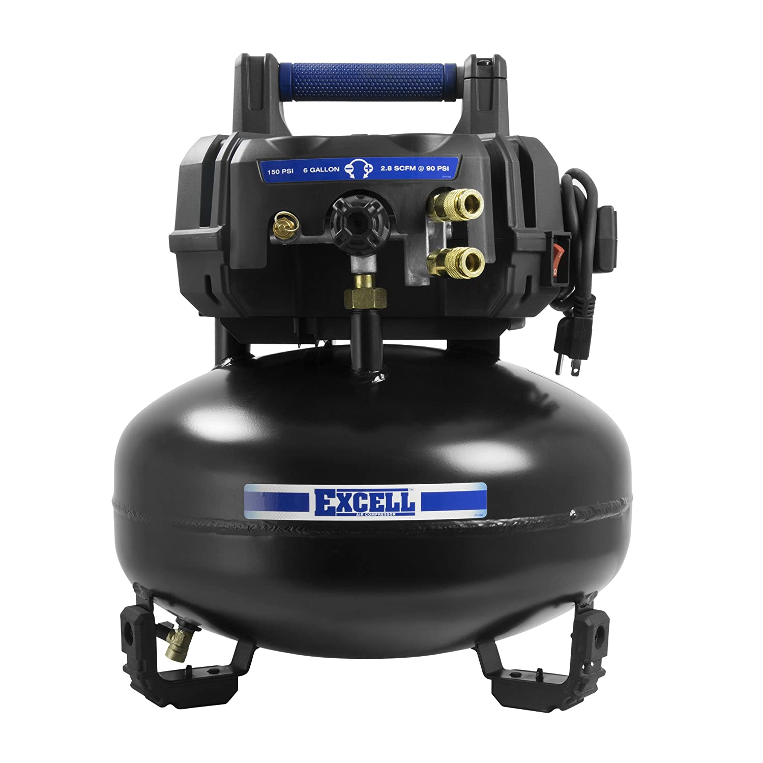 Excell U256PPE Excel Pancake Air Compressor EXCELL Air Compressors