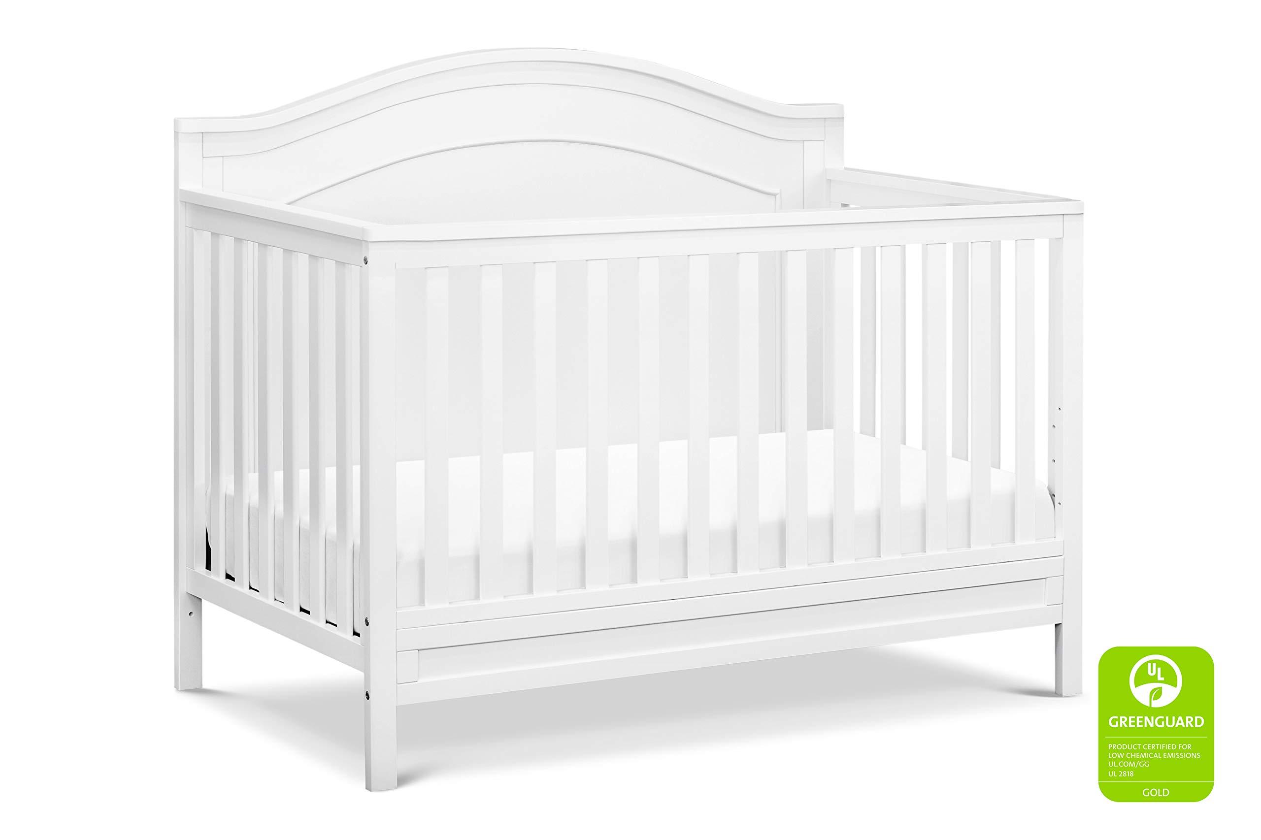 DaVinci Charlie 4-in-1 Convertible Crib, White by DaVinci
